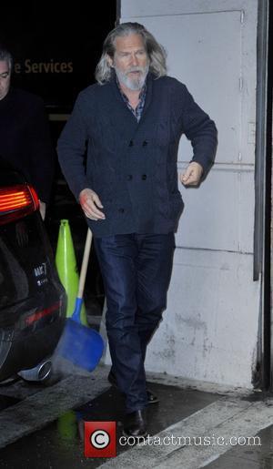Jeff Bridges - Jeff Bridges arriving at Huffington Post - Manhattan, New York, United States - Monday 2nd February 2015