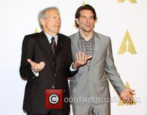Clint Eastwood and Bradley Cooper