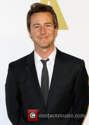 Edward Norton - Oscar nominees luncheon 2015 held at the Beverly Hilton Hotel - Arrivals at Beverly Hilton Hotel -...