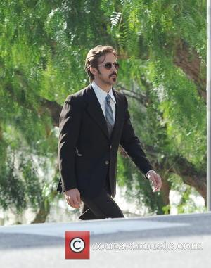American film star Ryan Gosling was spotted wearing a vintage suit which shooting a scene in his latest movie 'The...