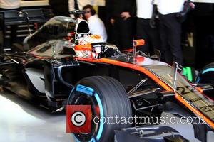 Jenson BUTTON - F1- Formula One - Testing at Jerez de la Frontera, Spain at Olympia Hall - Jerez de...
