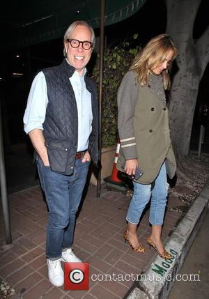 Tommy Hilfiger - Tommy Hilfiger and wife Dee Ocleppo leaving Madeo Restaurant in West Hollywood at West Hollywood - Los...
