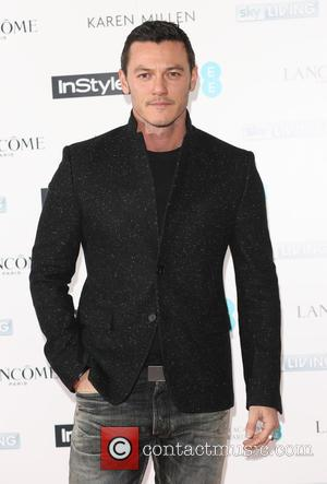 Luke Evans - Shots from a party ahead of the EE and InStyle British Academy of Film and Television Awards...
