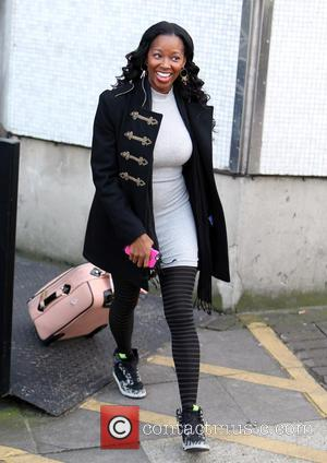 Jamelia - Jamelia outside ITV Studios today - London, United Kingdom - Monday 2nd February 2015