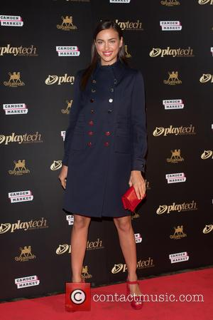 Irina Shayk - Software supplier for online gaming, Playtech, hosts an after-party at the Gilgamesh Lounge in Camden. - London,...