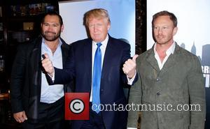 Donald Trump and Ian Ziering