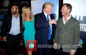 Johnny Damon, Brandi Glanville, Donald Trump and Ian Ziering