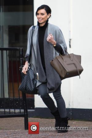 Christine Bleakley - Christine Bleakley spotted leaving the ITV studios - London, United Kingdom - Tuesday 3rd February 2015