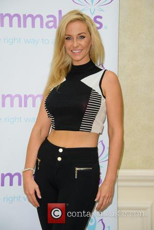 Josie Gibson - Josie Gibson launches her new dieting website 'Slimmables' at the Lankmark Hotel - London, United Kingdom -...
