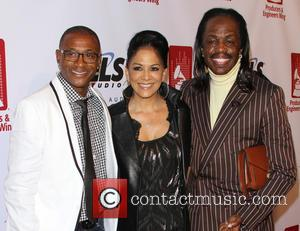 Tommy Davidson, Sheila E. and Verdine White - Shots of a host of stars from the music industry's as they...