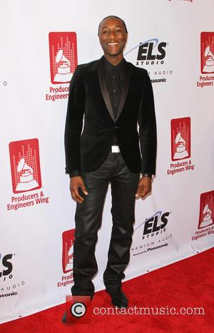 Aloe Blacc - Shots of a host of stars from the music industry's as they attended the Recording Academy Producers...