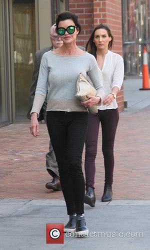 Janice Dickinson - Janice Dickinson goes to a salon in Beverly Hills - Beverly Hills, California, United States - Wednesday...