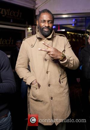 British actor famous for playing the lead role in 'Luther' Idris Elba was photographed at the Playtech afterparty which was...