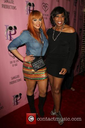 Faith Evans and Dawnn Lewis
