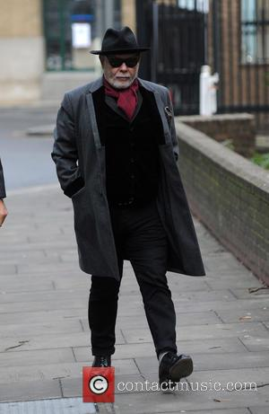 Gary Glitter and Paul Gadd - Gary Glitter arrives at Southwark Crown Court - London, United Kingdom - Wednesday 4th...
