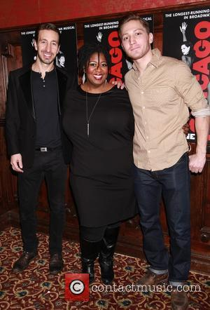 Adam Zotovich, NaTasha Yvette Williams and Adam Jepsen - Opening night after party for Jennifer Nettles and Carly Hughes in...