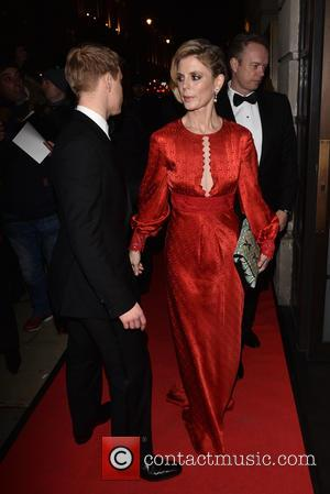 Freddie Fox and Emilia Fox - BAFTA - fundraising gala dinner & auction held at BAFTA Piccadilly, Arrivals. - London,...