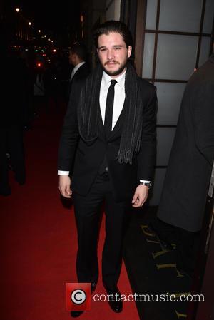 Kit Harington - BAFTA - fundraising gala dinner & auction held at BAFTA Piccadilly, Arrivals. - London, United Kingdom -...