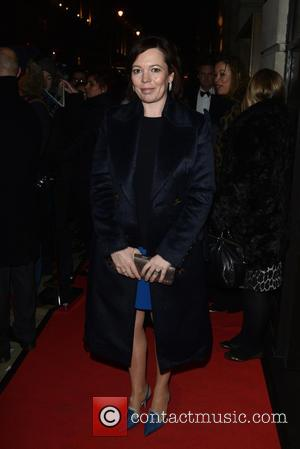 Olivia Colman - BAFTA - fundraising gala dinner & auction held at BAFTA Piccadilly, Arrivals. - London, United Kingdom -...