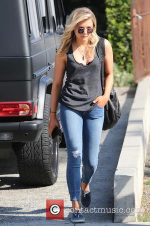 American actress Chloe Grace Moretz was spotted as she left the Andy LeCompte salon accompanied by a friend in West...
