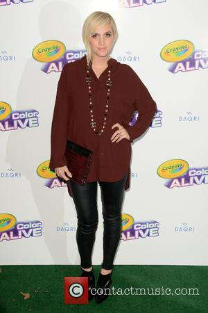 Ashlee Simpson Ross - Crayola 'Color Alive' launch event hosted by Ashlee Simpson Ross - Arrivals - Queens, New York,...