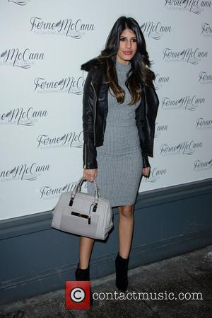 Jasmin Walia - Ferne McCann launches her blog 'Fashionable Foodie' at Charlies Deli in Brentwood - Arrivals - London, United...