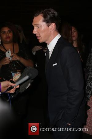 Benedict Cumberbatch - A variety of stars were snapped as they arrived at the Newport Beach Film Festival Pre British...