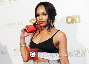 Demetria McKinney - Shots of a host of celebrities as they arrived at the OK! Magazine Grammy Pre-Party which saw...
