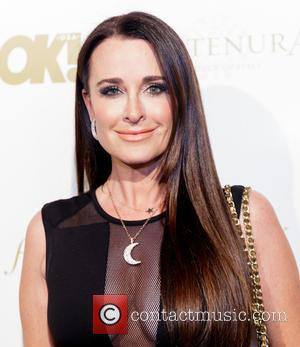 Kyle Richards - Shots of a host of celebrities as they arrived at the OK! Magazine Grammy Pre-Party which saw...