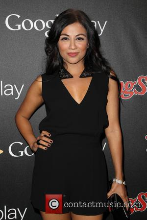 Karen David - A variety of stars were photographed as they arrived to the Rolling Stone magazine and Google Play...