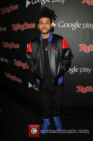 The Weeknd - A variety of stars were photographed as they arrived to the Rolling Stone magazine and Google Play...