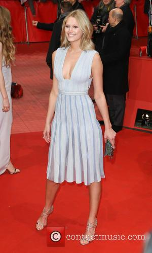 Toni Garrn - 65th Berlin International Film Festival (Berlinale) - 'Nobody Wants the Night' - Arrivals at Berlinale Palast -...