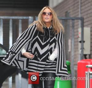 Patsy Kensit - Patsy Kensit outside the ITV Studios - London, United Kingdom - Thursday 5th February 2015