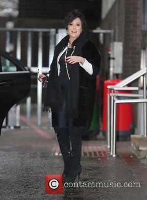 Nancy Dell'olio - Nancy Dell'olio outside the ITV Studios - London, United Kingdom - Thursday 5th February 2015
