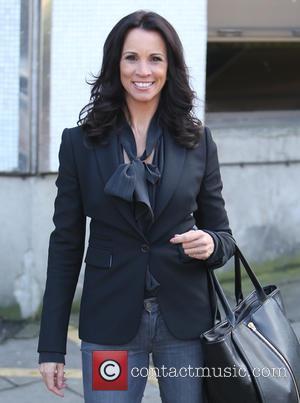 Andrea McLean - Andrea McLean outside ITV Studios - London, United Kingdom - Thursday 5th February 2015