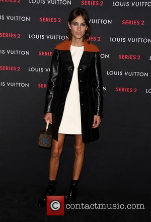 Alexa Chung - A variety of fashionable stars were photographed as they attended Louis Vuitton