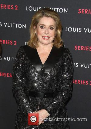 Catherine Deneuve - A variety of fashionable stars were photographed as they attended Louis Vuitton
