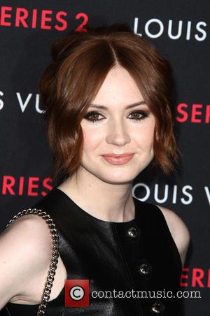 Karen Gillan - A variety of fashionable stars were photographed as they attended Louis Vuitton