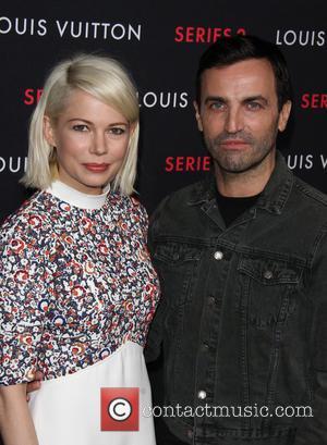 Michelle Williams and Nicolas Ghesquiere