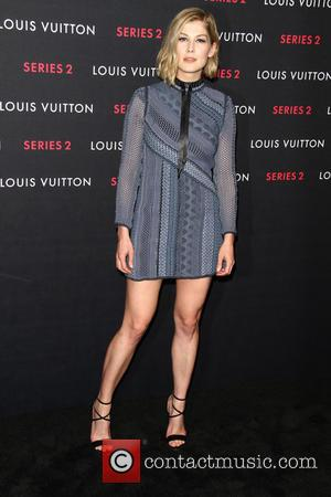 Rosamund Pike - A variety of fashionable stars were photographed as they attended Louis Vuitton