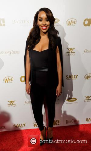 Gloria Govan - Shots of a host of celebrities as they arrived at the OK! Magazine Grammy Pre-Party which saw...