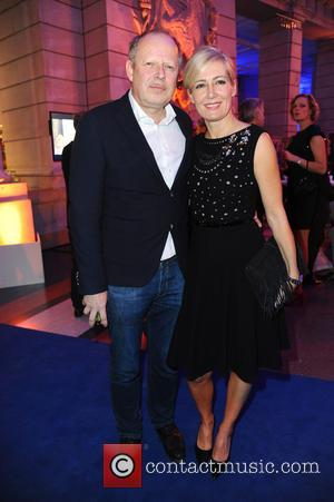Axel Milberg and Judith Milberg - 65th Berlin International Film Festival (Berlinale) - Blue Hour party by ARD & Degeto...