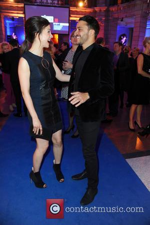 Aylin Tezel and Kostja Ullmann - 65th Berlin International Film Festival (Berlinale) - Blue Hour party by ARD & Degeto...