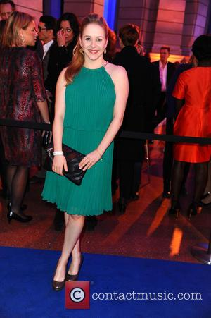 Jasmin Schwiers - 65th Berlin International Film Festival (Berlinale) - Blue Hour party by ARD & Degeto at Museum fuer...