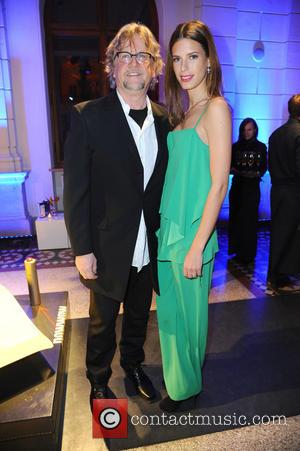 Martin Krug and Julia Trainer - 65th Berlin International Film Festival (Berlinale) - Blue Hour party by ARD & Degeto...