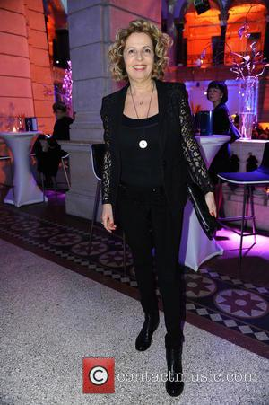 Michaela May - 65th Berlin International Film Festival (Berlinale) - Blue Hour party by ARD & Degeto at Museum fuer...