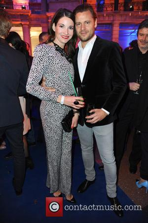 Sophie Wepper and David Meister - 65th Berlin International Film Festival (Berlinale) - Blue Hour party by ARD & Degeto...