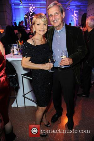 Uschi Glas and Dieter Hermann - 65th Berlin International Film Festival (Berlinale) - Blue Hour party by ARD & Degeto...