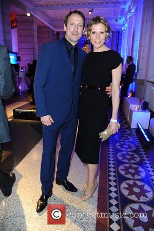 Wotan Wilke Moehring and Franziska Weisz - 65th Berlin International Film Festival (Berlinale) - Blue Hour party by ARD &...