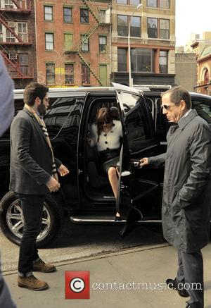 Dakota Johnson - Dakota Johnson arriving at her hotel - Manhattan, New York, United States - Friday 6th February 2015